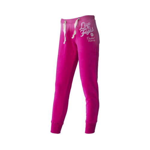 OLIMP LIVE & FIGHT Women's Pants RED ROSE raspberry