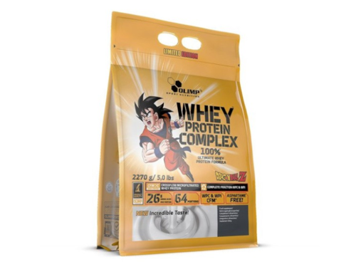 OLIMP Whey Protein Complex 2270 g bag Limited Edition Dragon Ball