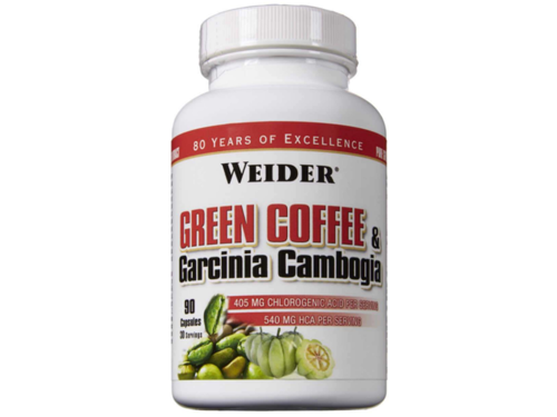 Outletw_WEIDER Green Coffee & Garcinia Cambogia 90 kaps