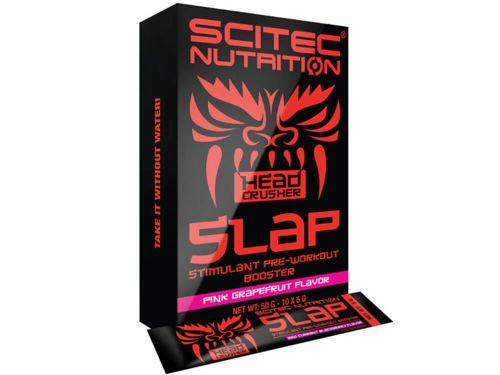 SCITEC HEAD CRUSHER Slap Box 10x 5 g