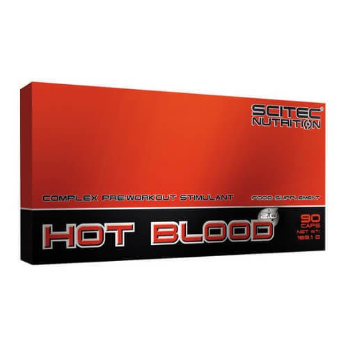 SCITEC Hot-Blood 2.0 90 kaps