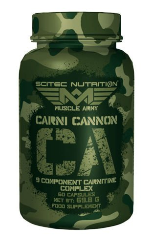 SCITEC Muscle Army Carni Cannon 60 kaps