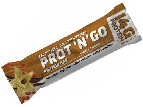 SCITEC Prot 'N' Go Protein Bar 45 g
