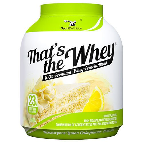 SPORT DEFINITION Thats The Whey 2270 g