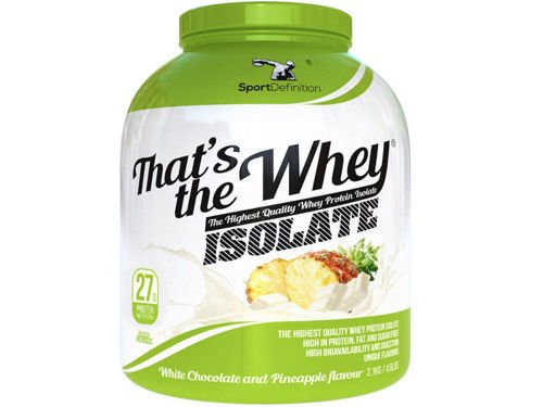 SPORT DEFINITION Thats The Whey Isolate 2100 g
