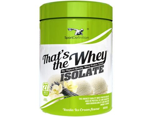 SPORT DEFINITION Thats The Whey Isolate 600 g