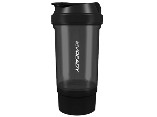 TREC Shaker 201 - 500 ml BLACK #IM READY