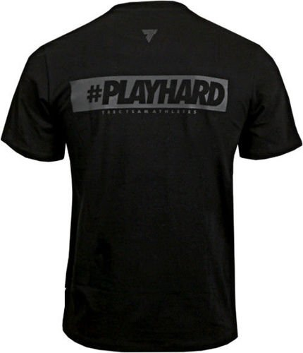 TREC WEAR Koszulka T-Shirt Play Hard 009 BLACK