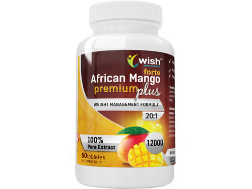 WISH African Mango Premium Plus 6000mg 60 tab
