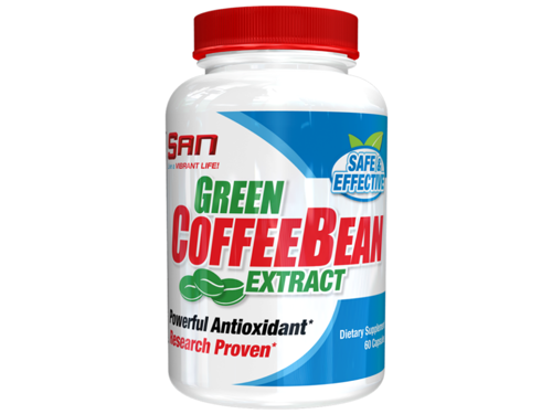 data_SAN Green Coffee Bean 60 kaps