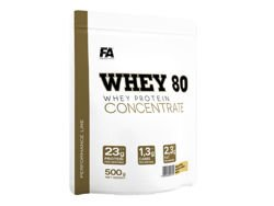 FITNESS AUTHORITY Whey 80 WPC 500 g