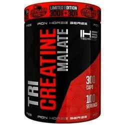 IRON HORSE Tri Creatine Malate 300 kaps + 30 kaps